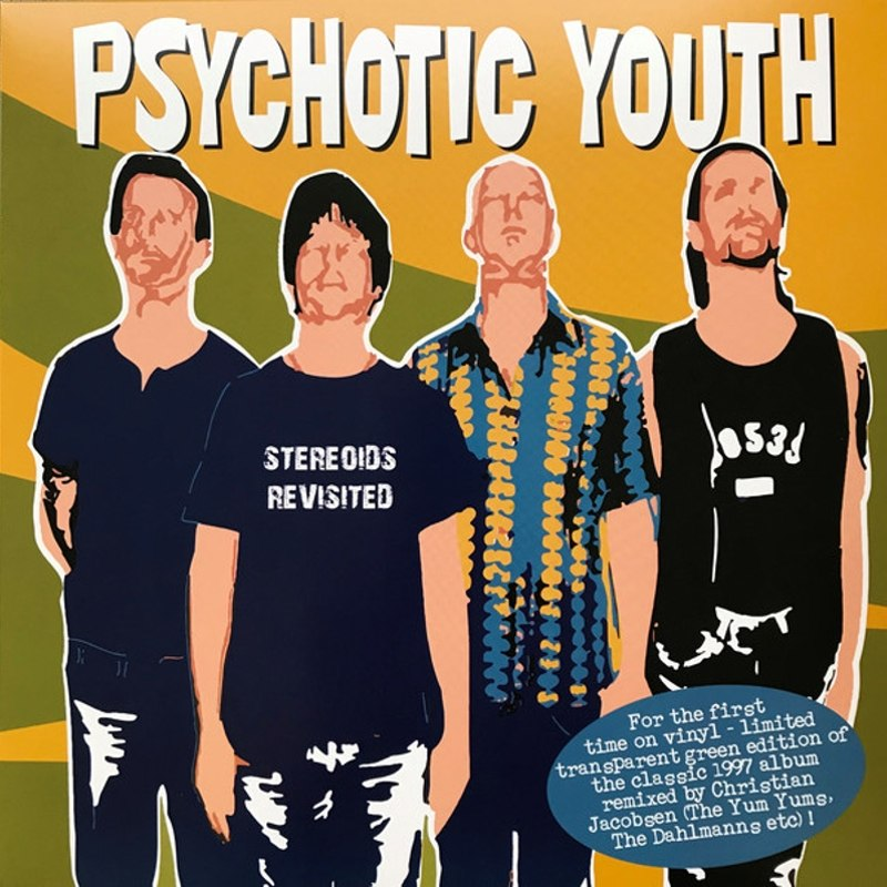 PSYCHOTIC YOUTH - Steroids revisited LP