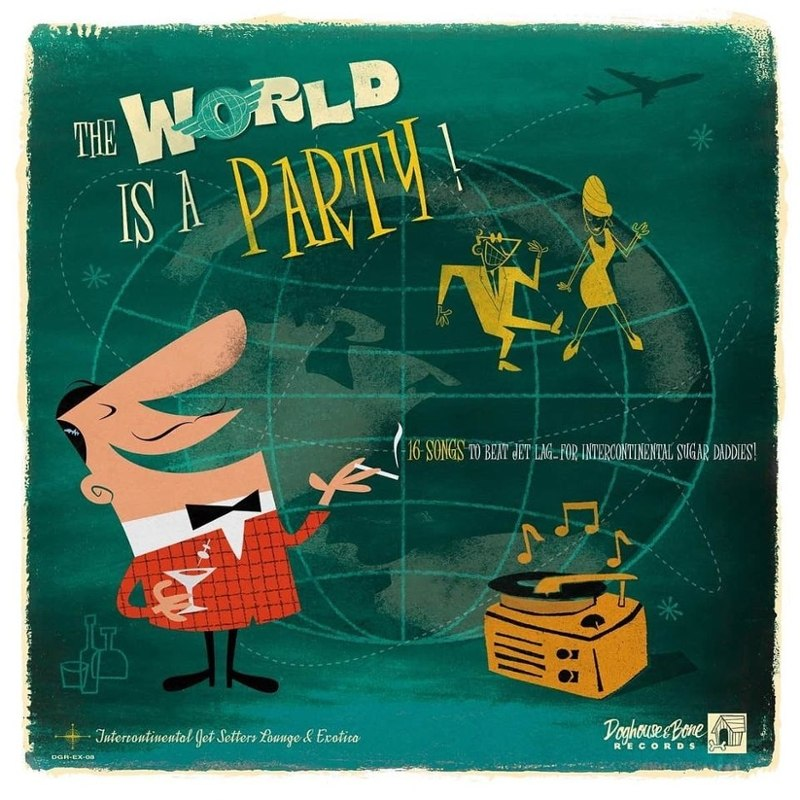 V/A - The world is a party Vol.1 LP