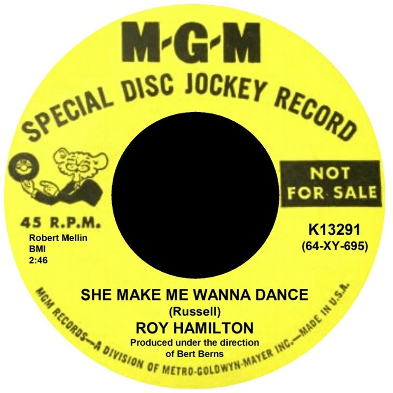 ROY HAMILTON - She make me wanna dance/you can count on me 7